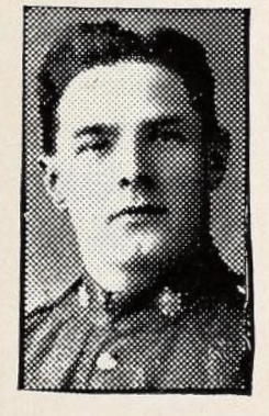 Photo of FRED LEACH– Photo from the National Memorial Album of Canadian Heroes c.1919. Submitted for the project, Operation: Picture Me.