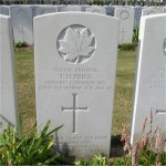 Grave Marker– The Grave of Thomas Henry Price, Albert Communal Cemetery Extension