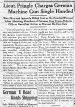 Newspaper Clipping– GRANDE PRAIRIE HERALD TUESDAY OCTOBER 10 1916