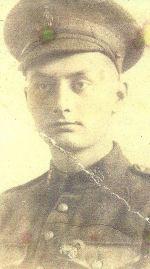 Photo of WALTER HICKMOTT– Walter & LT. Borthwick killed by same sniper. Sgt. Tom Thatcher killed the sniper. Near the village of Boyelles, France