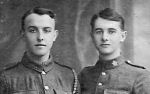 Group Photo– My Grandpa, Daniel Emsley Oram on the right, with his older brother John Craig