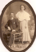 Engagment photo– Daniel Emsley Oram and Helena Augustine Hines. This was taken as their engagment photo.