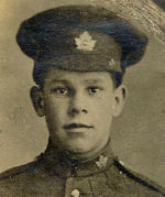 Photo of Harry Taylor– Pte. Harry Taylor of Madoc, Ontario