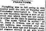 Newspaper Clipping– From the Perth Courier for 4 May 1917.
