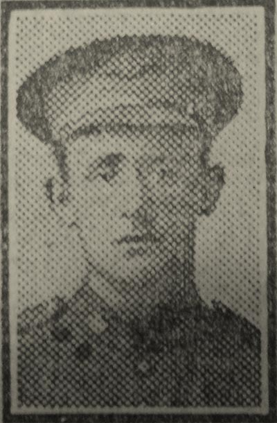 Newspaper Clipping– Pte George Barclay