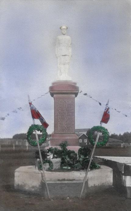 Binscarth Manitoba War Memorial