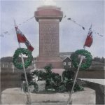 Binscarth Manitoba War Memorial– This monument was unveiled in 1920.