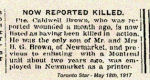 Newspaper clipping– Newspaper article.
