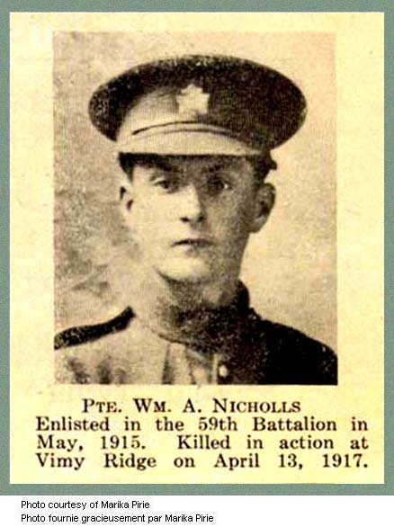 Photo of William Arthur Nicholls