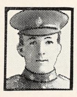 Photo of CLEMENT BECK WILSON– Photo from the National Memorial Album of Canadian Heroes c.1919. Submitted for the project, Operation: Picture Me.