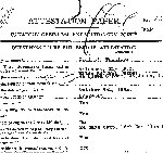 Attestation Papers (Front)– Attestation Papers (Source Library and Archives Canada.  Soldiers of the First World War)