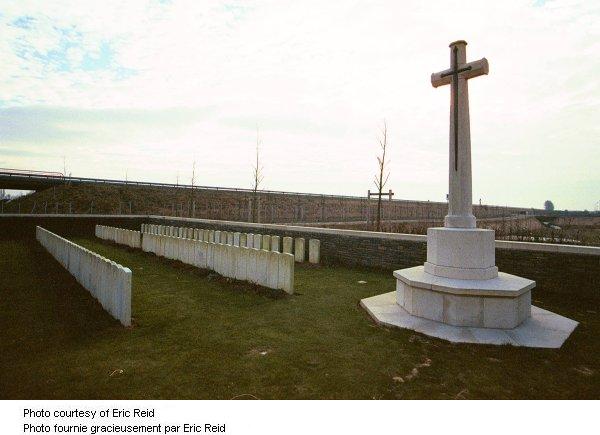 Croix au cimetière de Mill Switch