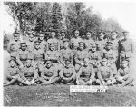 Group Photo– Eastern Township Boys, 148th Battalion, Valcartier Camp