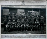 Group Photo– Platoon D of the 182nd O.S. Battalion.  My great-grandfather is William John Bellboddy