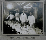Group Photo– Cooks and Waiters of the Officers Mess. 182nd OS Battalion