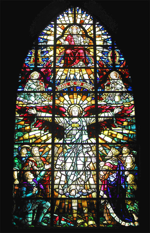 Memorial Stained Glass– St Andrew's Church Ottawa WWI memorial