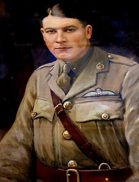 Photo of ERSKINE W GORDON– Oil painting of Lt. Erskine GORDON (other images to follow)