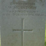 Grave marker– Photo provided by The Commonwealth Roll Of Honour Project. Volunteer Tannaguy