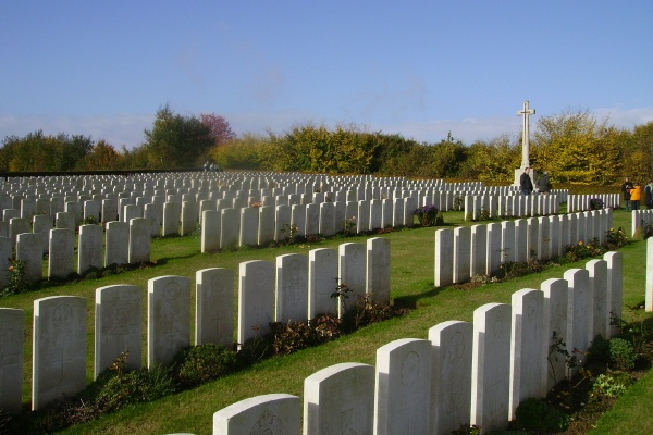 Bagneux British Cemetery– photo courtesy of Marg Liessens