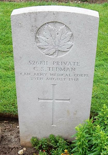 Grave Marker– Photo courtesy Wilf Schofield, England
