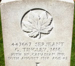 Grave Marker– Courtesy Wilf Schofield, England