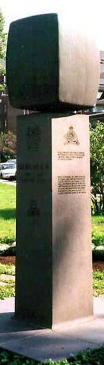 Memorial– Lt. Jean Brillant V.C. memorial Royal 22e Regiment