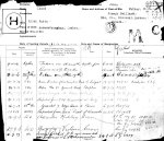 Service Records– Casualty Form - Active Service