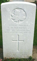 Grave Marker– Photo courtesy of Wilf Schofield, England, 2008.
