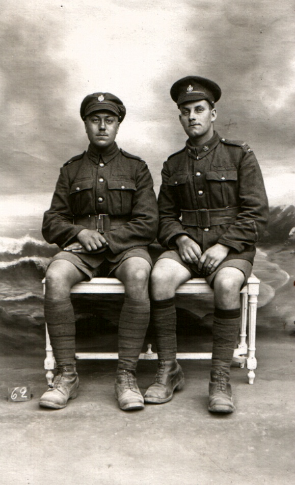 Photo of John Essley Anderson and his friend