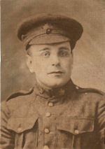 Photo of George Arsenault– George Arsenault in uniform.