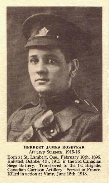 Photo of Herbert James Rosevear