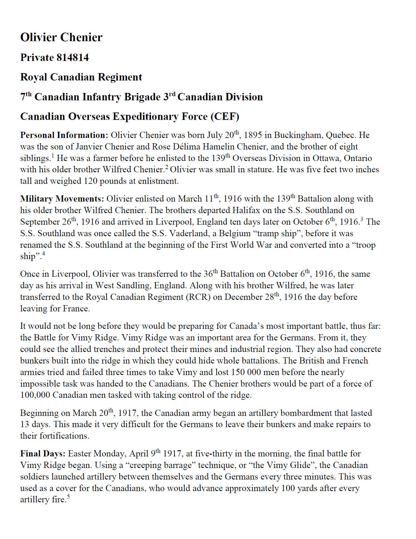 Essay (Page 1)