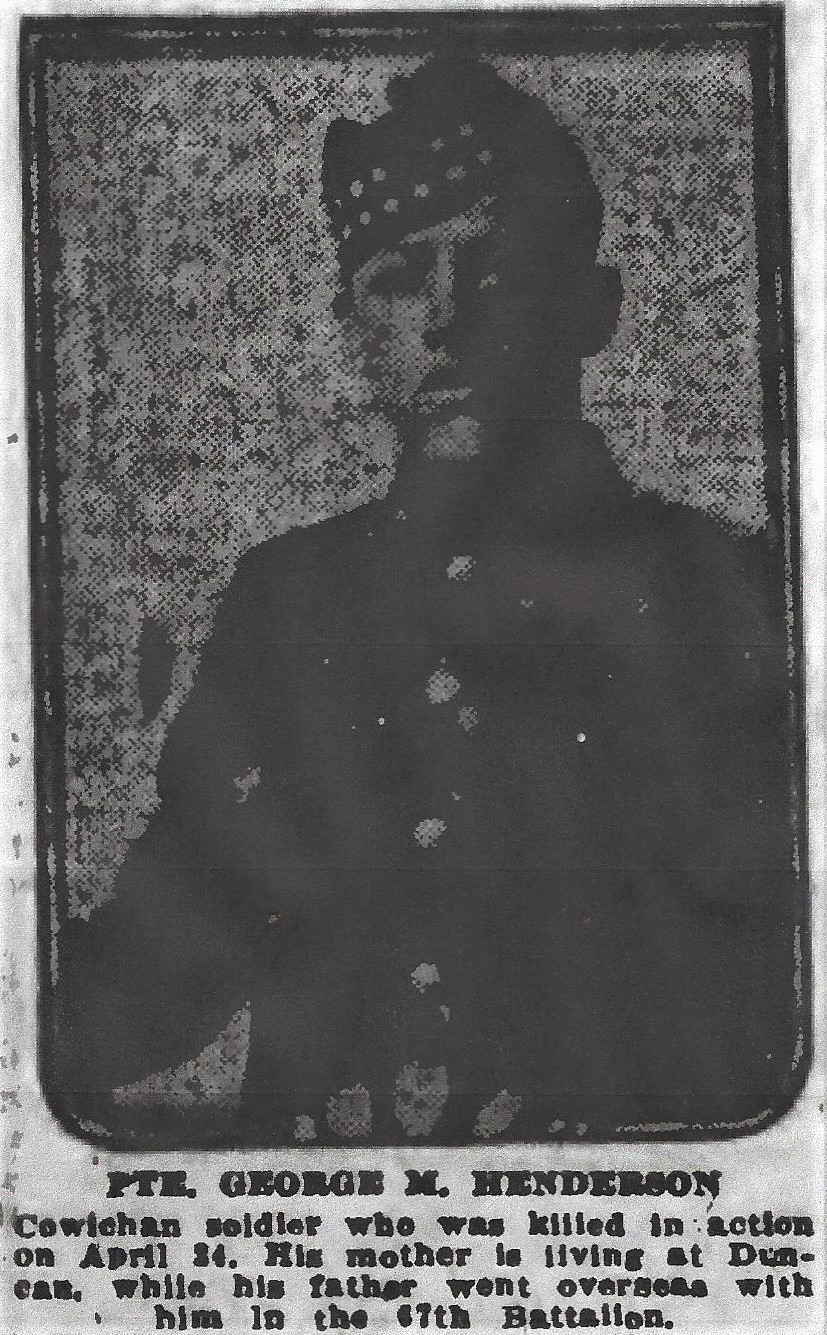 Newspaper Clipping– From the Daily Colonist of May 8, 1917. Image taken from web address of http://archive.org/stream/dailycolonist59y128uvic#page/n0/mode/1up