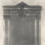Commemorative Plaque– Memorial Plaque commemorating barristers and students, members of the Alberta law society, who died while serving in the First World War.