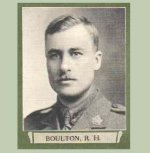 """Photo of Russell Heath Boulton– From """"The War Book of Upper Canada College"""", edited by Archibald Hope Young, Toronto, 1923.  This book is a Roll of Honour including former students who served during the First World War."""