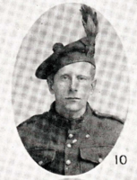 Photo of JOSEPH JOHN POWER– In memory of the men who joined the 185th Battalion (Cape Breton Highlanders) who went to war and did not come home. Submitted for the project, Operation Picture Me
