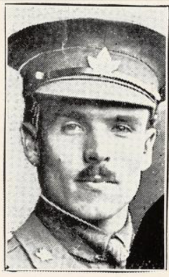 Photo of JOHN EGERTON RYERSON– Photo from the National Memorial Album of Canadian Heroes c.1919. Submitted for the project, Operation: Picture Me.
