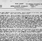 War Diary– Note of his being wounded in the divisional war diary from August 1917