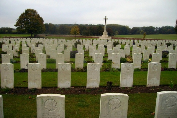 Cemetery– Villers Station Cemetery … photo courtesy of Marg Liessens