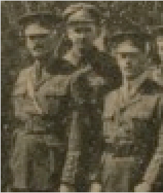 Photo of ROBERT GEORGE HOWIE BRYDON– Robert in center. Submitted for the project Operation Picture Me