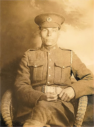 Photo of William Peterson– My maternal Great Grandfather, William Peterson,  born 25 Apr 1880 in Sweden, died in battle on 27 Sep 1918.  My maternal Great Grandfather enlisted on 29 Feb 1916 (leap day!), he left at home a wife and six children in Vancouver, BC.  Before he died, his youngest daughter at the age of 2 years 5 months had died from the Spanish influenza while he was overseas. His mother also passed away while he was away.  His wife, Hilda Bjork Johnson Peterson, survived him and raised the surviving five children. Hilda Peterson lived to the age of 90 years. LEST WE NOT FORGET!!