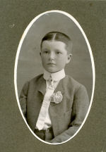 Photo of Harry Beech– Harry when he was a young boy Source: Pauline Mercer Collection