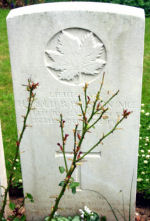 Grave Marker– Photo courtesy of Wilf Schofield, England, 2008.