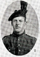 Photo of FREDERICK TAYLOR– In memory of the men who joined the 185th Battalion (Cape Breton Highlanders) who went to war and did not come home. Submitted for the project, Operation Picture Me