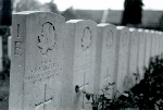 Gravestone for Stuart B. VanKleeck– Major VanKleeck's headstone, Bourlon Wood Cemetery, France.