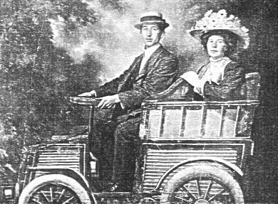 Photo of Albert and Alice Gates