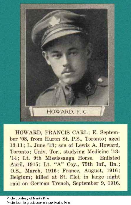 Photo of Francis Carl Howard