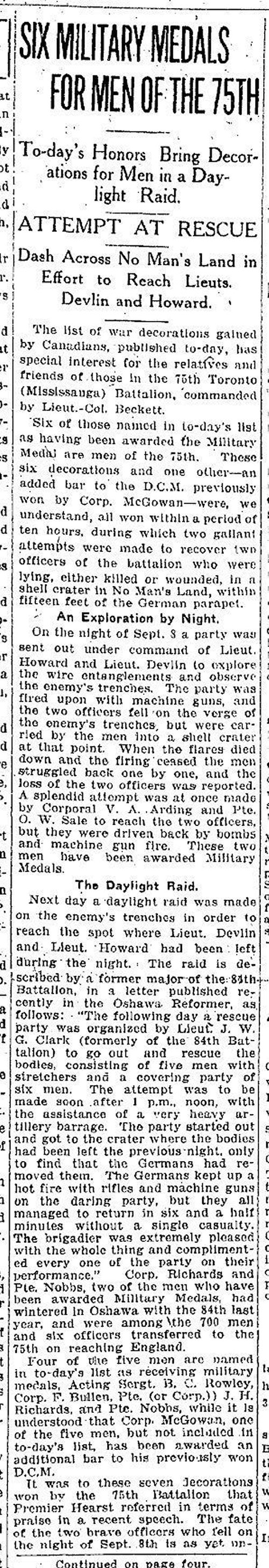 Newspaper Clipping (1 of 2)