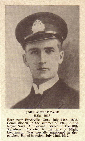 Photo of John Albert Page