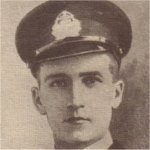 """Photo of John Albert Page– From the """"McGill Honour Roll, 1914-1918"""".  McGill University, Montreal, Quebec, 1926."""